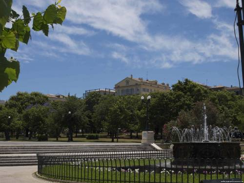 Корфу. Площадь перед Старым фортом