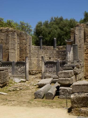 Остатки христианского храма