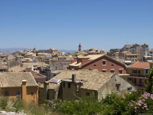 Корфу. Вид на город из Новой крепости