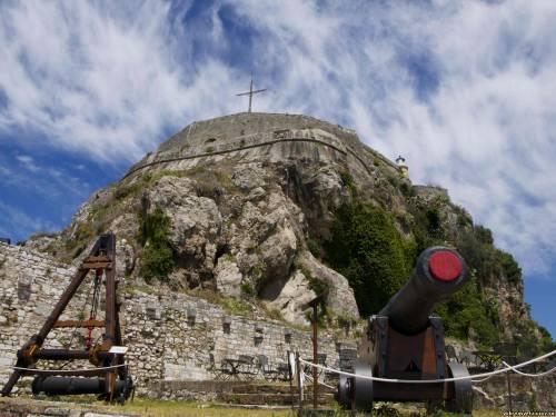 Корфу. Внутри Старого форта