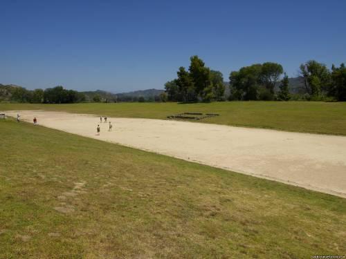 Античный олимпийский стадион