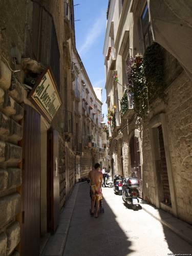 Улочки старого города в Бари