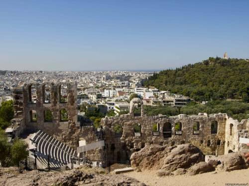 Афины. Акрополь. Античный театр