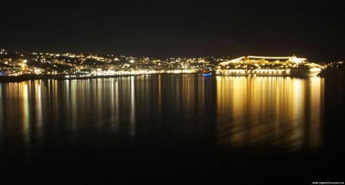 Миконос ночью