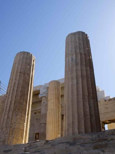 Афины. Акрополь. Вход
