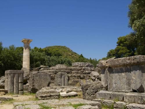 Все, что осталось от храма Зевса